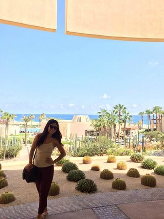 Pueblo Bonito Pacifica Golf & Spa Resort : Just a selfie near the lobby