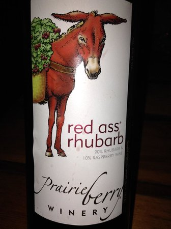 Powder House Lodge Restaurant: South Dakota red ass wine