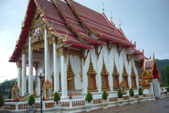 Wat Chalong : one of the temples