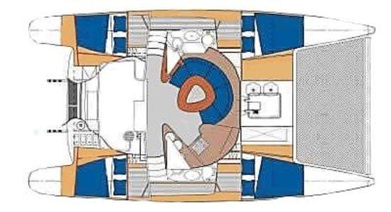 Paradise Found Sailing: Kit Layout
