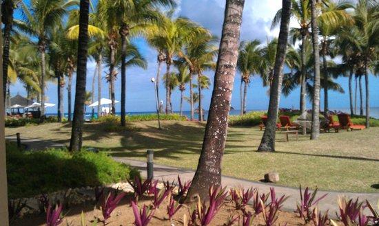 Le Meridien Ile Maurice : Vista desde la terraza de la habitación