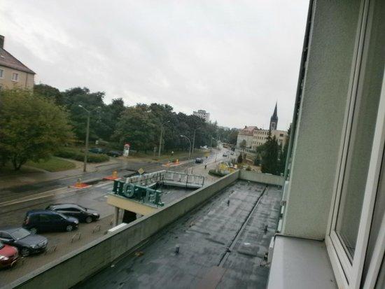 Wieniawa Hotel: Vista dalla camera