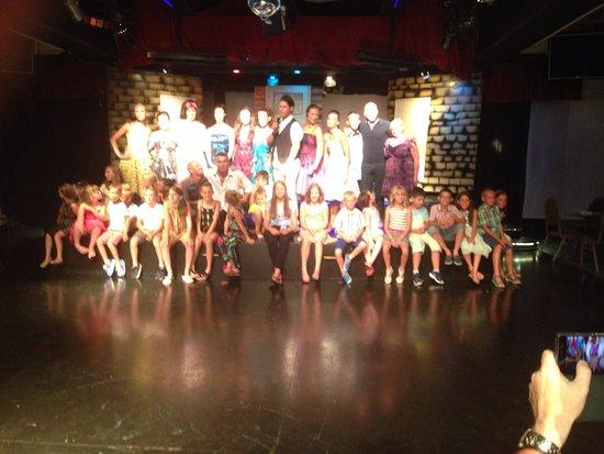 Louis Phaethon Beach : The entertainment team. Well done for all you do xxx