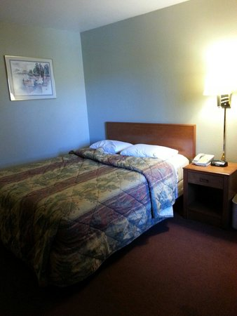 Good Nite Inn Rohnert Park: Bed.
