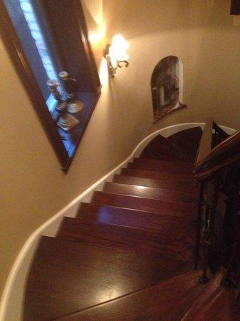 Villa D'Citta: stairs