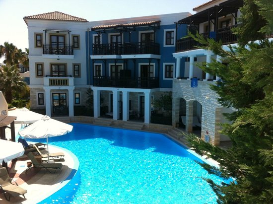 Aldemar Royal Mare Thalasso Resort: VISTA DESDE NUESTRA HABITACION