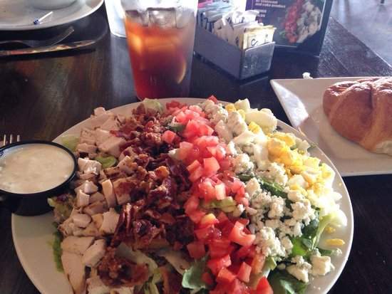 Fireside Brewhouse: August lunch special $8.95 Fireside Cobb salad with Coke or tea. Larger portion is $14.95, but t