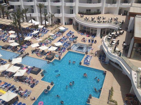 db San Antonio Hotel + Spa: View from room balcony.