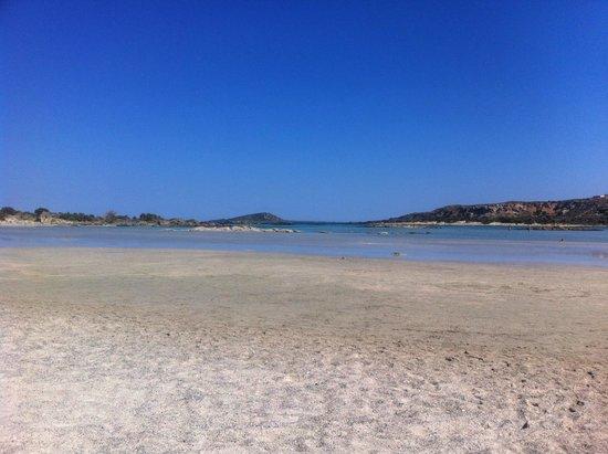 Aldemar Royal Mare Thalasso Resort: PLAYA DE ELAFONISI