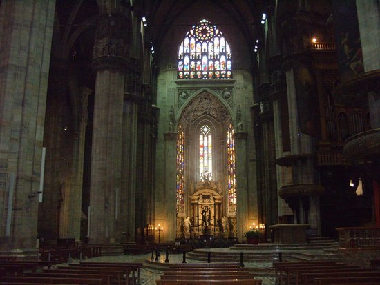 Catedral (Duomo): Looking across the transept