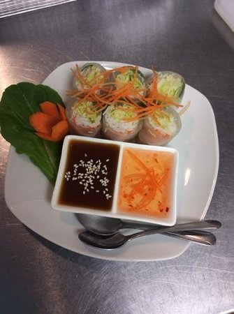 Krua Thai : Fresh shrimp rolls