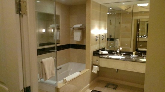 The Palazzo Resort Hotel Casino: Nice bathroom.