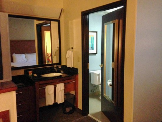 Hyatt Place Atlanta Airport North : bath area