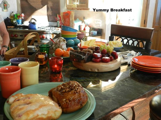 Whitefish TLC Bed and Breakfast: Breakfast additions