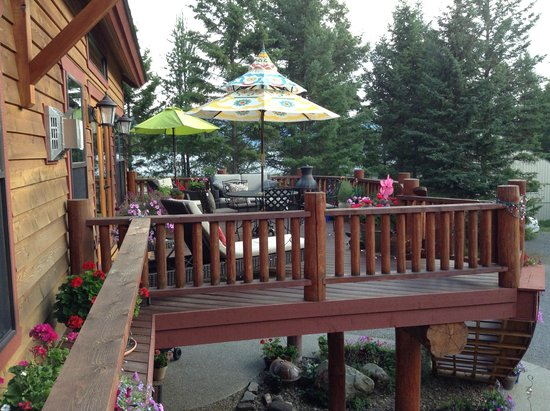 Whitefish TLC Bed and Breakfast : Beautiful place for relaxing