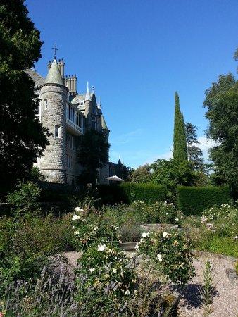 Chateau Rhianfa: View from the Garden