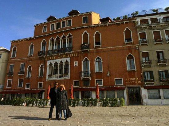Hotel Gabrielli : Frente del hotel