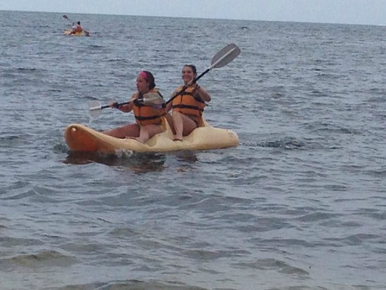 Moon Palace Cancun: kayaks included!