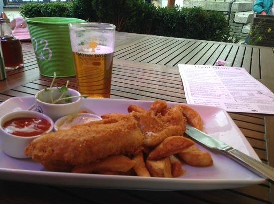 The Woolly Sheep Inn: great fish 'n chips!