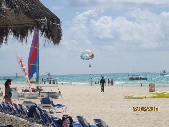 Sandos Playacar Beach Resort : Playa