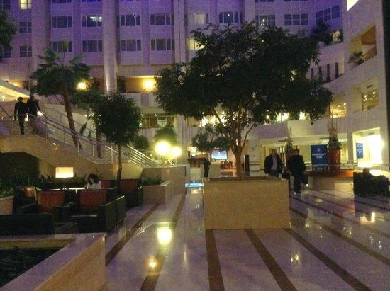 Hilton Prague: lobby