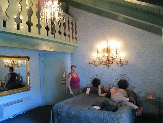 First floor of Sky Room. - Picture of Madonna Inn, San Luis Obispo ...