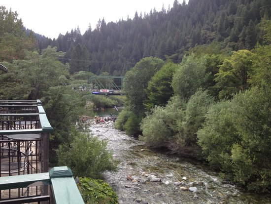 Riverside Inn: View from the rooms.