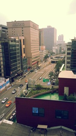Prince Hotel Seoul: View from room