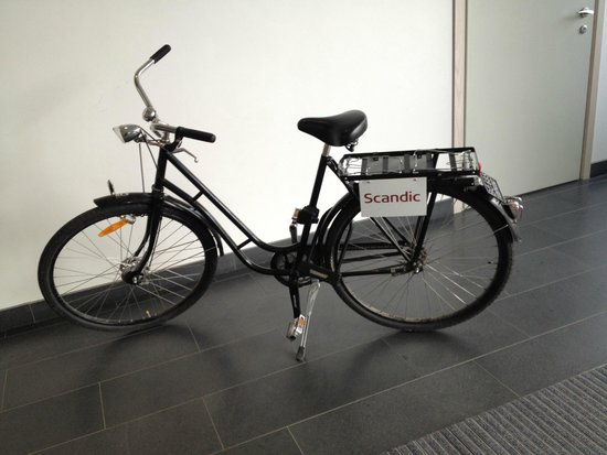 Scandic Victoria Tower: hotel bike