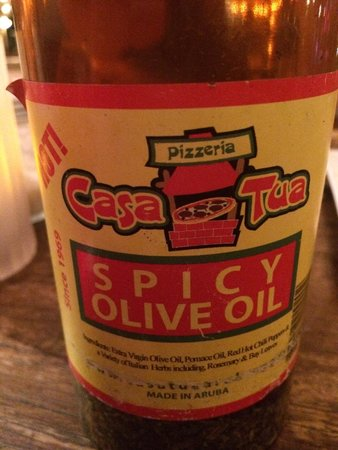 Casa Tua Renaissance: Spicy Casa Tua Spicy Oil