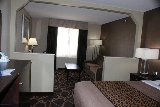 BEST WESTERN PLUS Pioneer Park Inn: room view