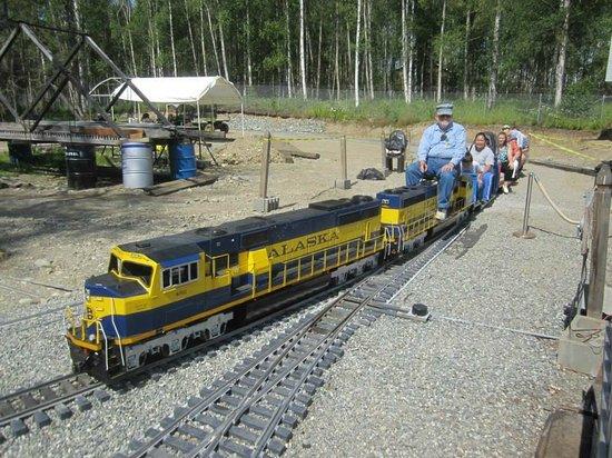 Wasilla, AK: Station departure