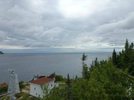 Centre d'interprétation et d'observation de Pointe-Noire : Overall view and captain's house