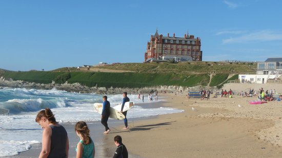 The Headland Hotel & Spa - Newquay: The Headland Hotel is perfect for a beach holiday with style.