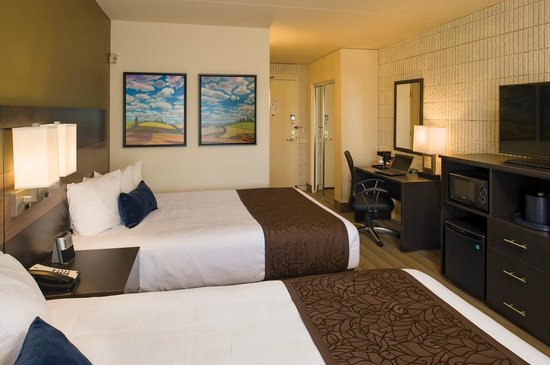Best Western Plus University Inn : Standard double queen room