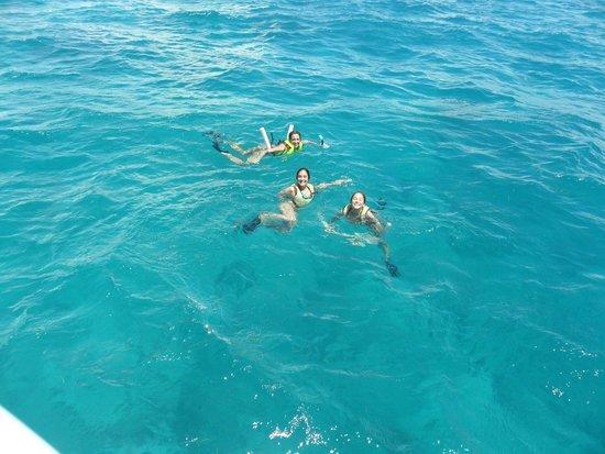 Keys Diver Snorkel & Scuba: Mar TURQUESA!!!!!