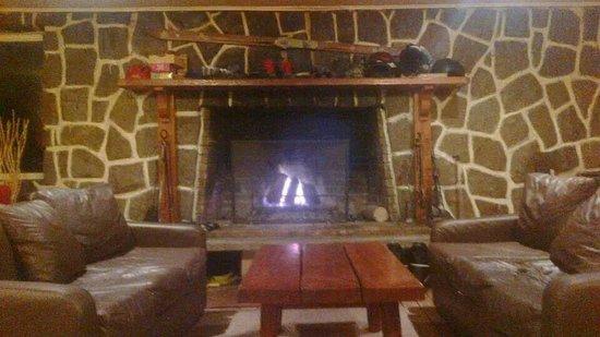 Lodge Andes : Recepção do hostel