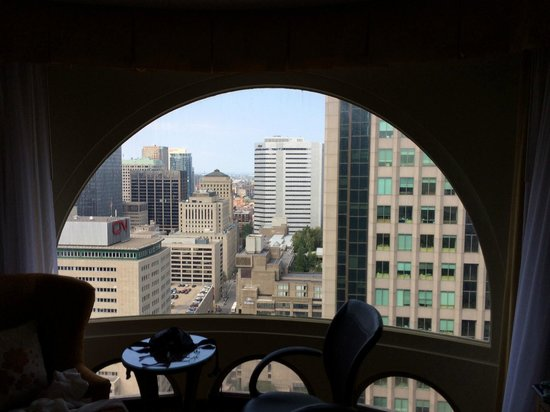Montreal Marriott Chateau Champlain : 30th floor room view