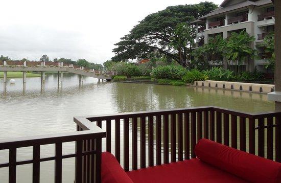 Le Meridien Chiang Rai Resort: จากระเบียงห้อง