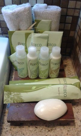 The Cocoon Boutique Hotel: toiletries