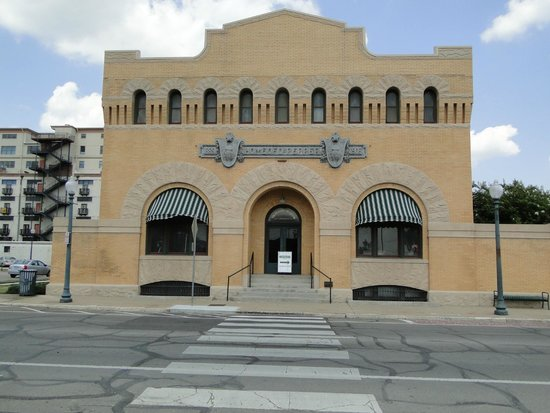 Front of Dr Pepper Museum