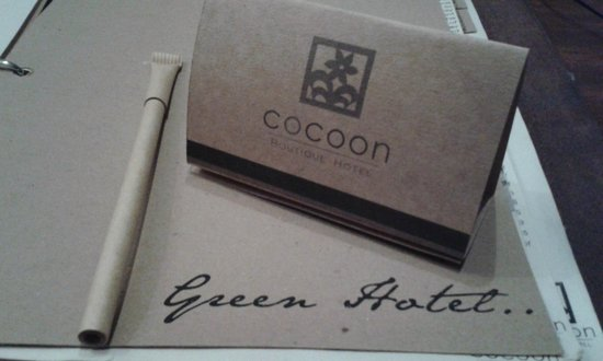 The Cocoon Boutique Hotel: worth going back...