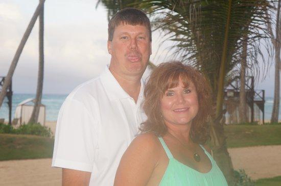 Breathless Punta Cana Resort & Spa : before dinner