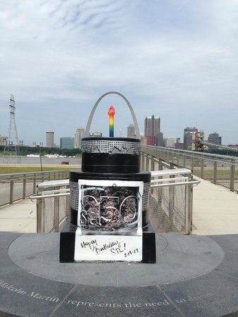Malcolm W Martin Memorial Park: Cakeway to the West cake