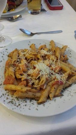 Hotel Riu Montego Bay: Pasta freshly prepped yum!