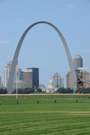 Malcolm W Martin Memorial Park: downtown St. Louis
