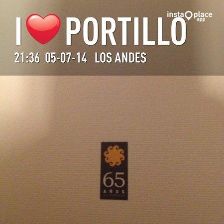 Portillo Hotel: Plato