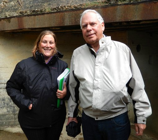 Normandy Sightseeing Tours: Anne-Sophie and Gary