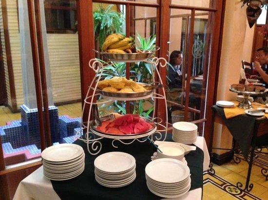 Hotel Fleur de Lys: Breakfast