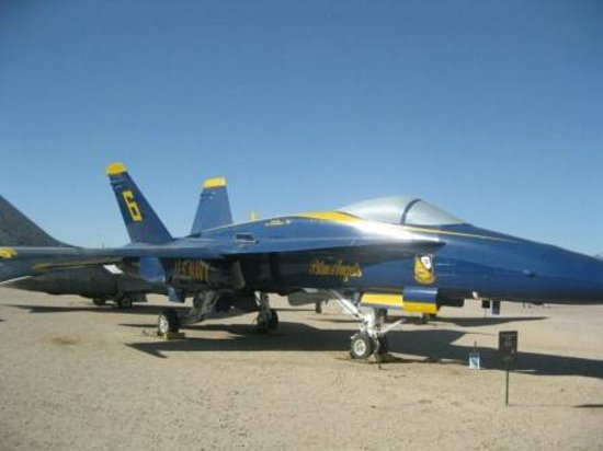 Pima Air & Space Museum: You may have seen this aircraft in an air show